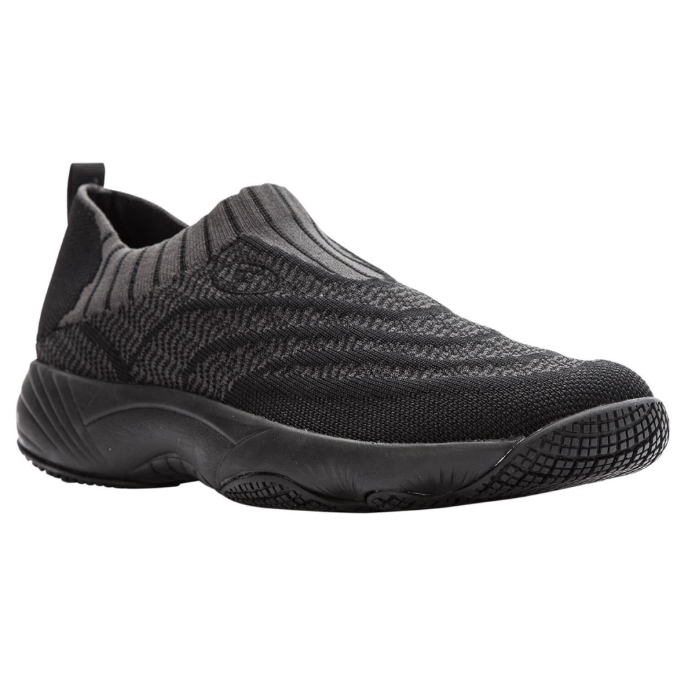 Propet Wash & Wear Slip-On Knit - Women's Washable Slip-Resistant Shoes