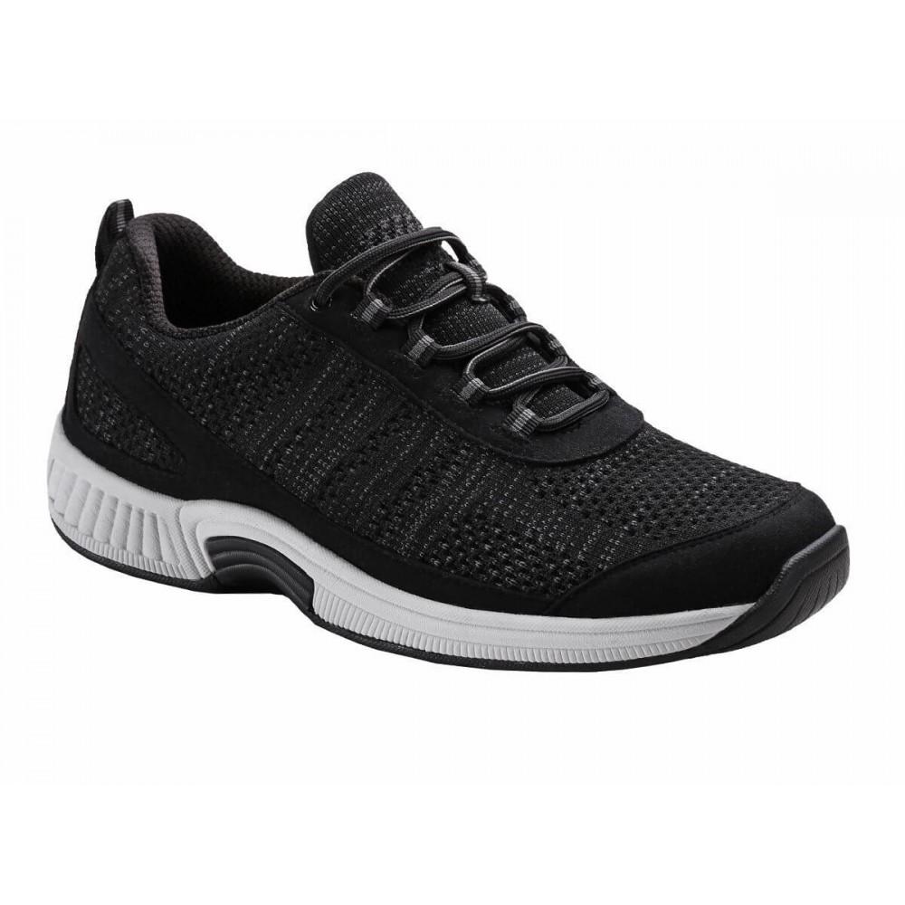 Orthofeet Lava - Men's Comfort Mesh Athletic Sneakers