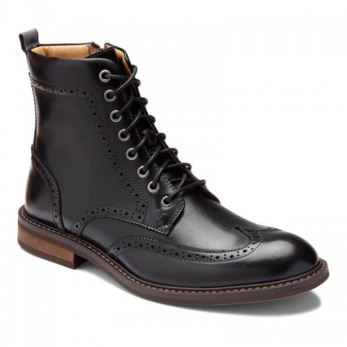 Vionic Wesley - Men's Comfort Wing-Tip Boots