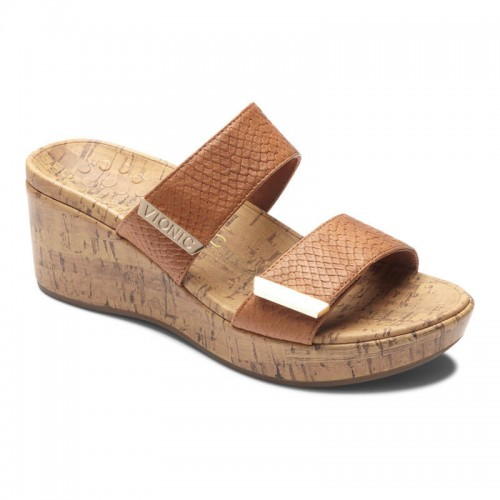 Vionic Pepper - Women's Orthopedic Wedge Sandal