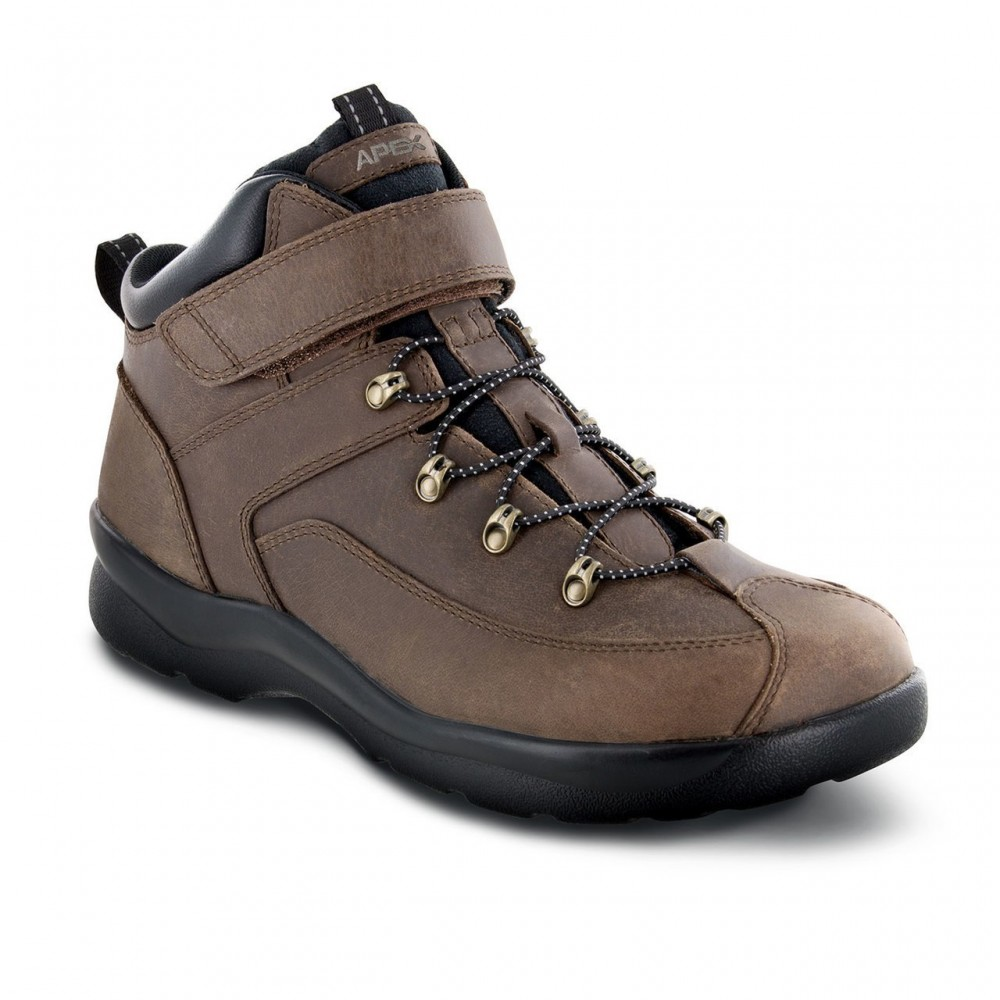 65684c51f65 Apex Ariya - Men's Comfort Hiking Boots - Flow Feet Orthopedic Shoes