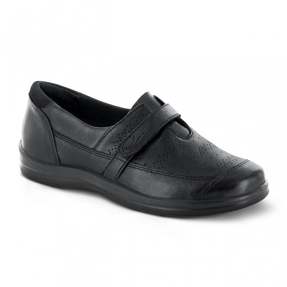 Apex Petals Regina - Women's Perforated Slip-On Shoes