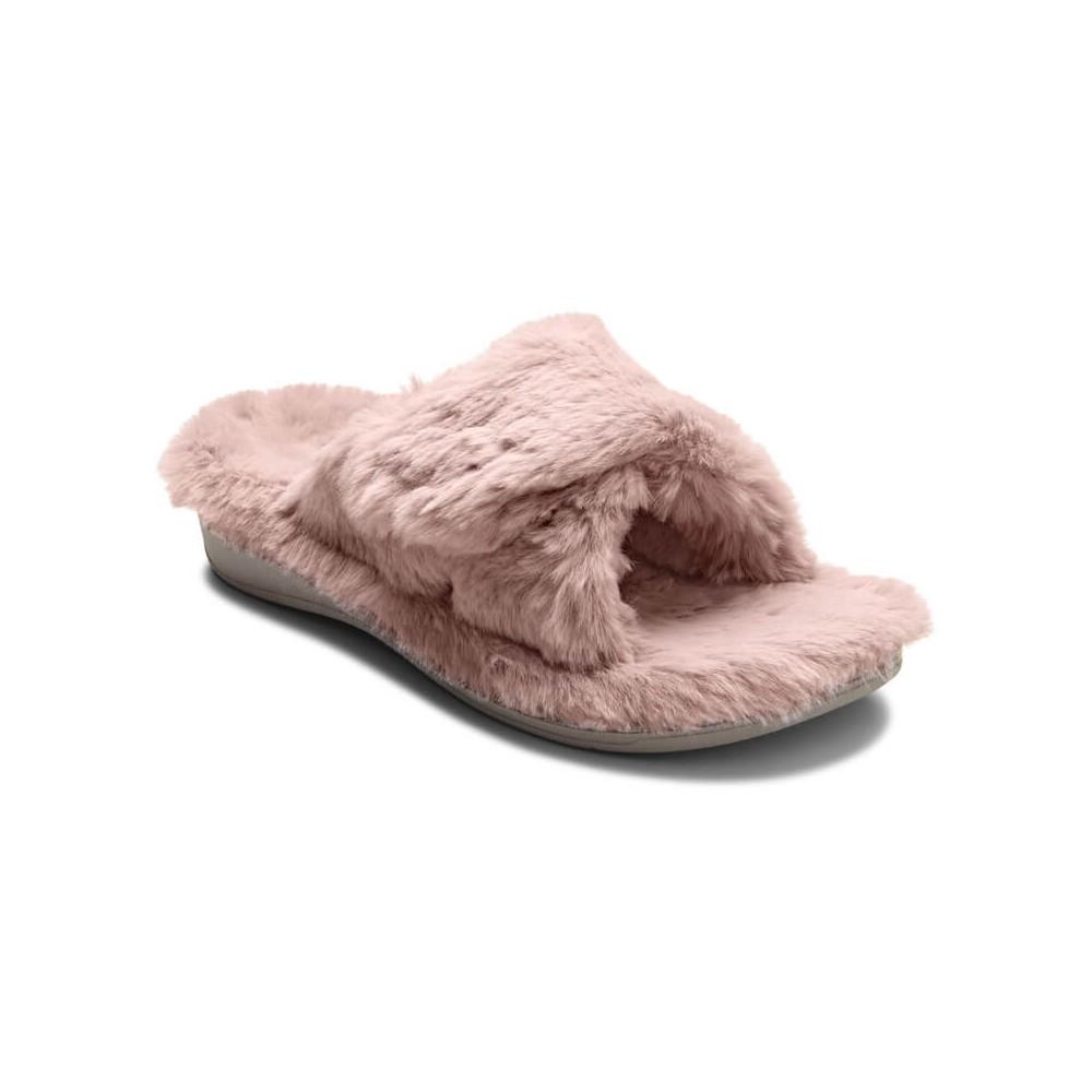 Vionic Relax Plush Slippers - Women's Comfort Slippers