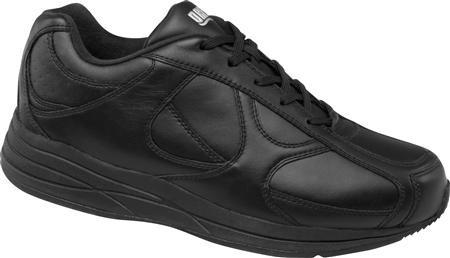 Drew Surge - Men's Orthopedic Athletic Shoes - Color : Black, Shoe Size : 8.5, Width : 4W